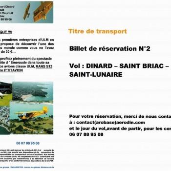 Cheque vol 2 - Balcon d'Emeraude