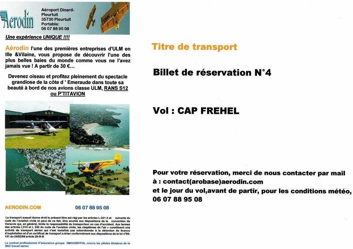 Chèque Vol 4 - Cap Fréhel