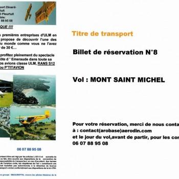Chèque Vol 8 - Mont-Saint-Michel